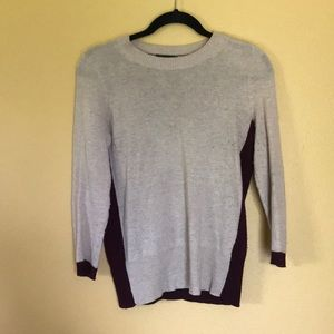 J.Crew Colorblock Elbow Patch Sweater